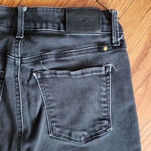 Lucky Brand Black Sasha Super Skinny Jeans